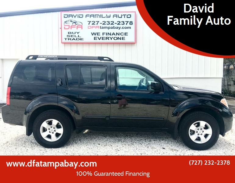 2006 Nissan Pathfinder For Sale At David Family Auto In New Port Richey FL