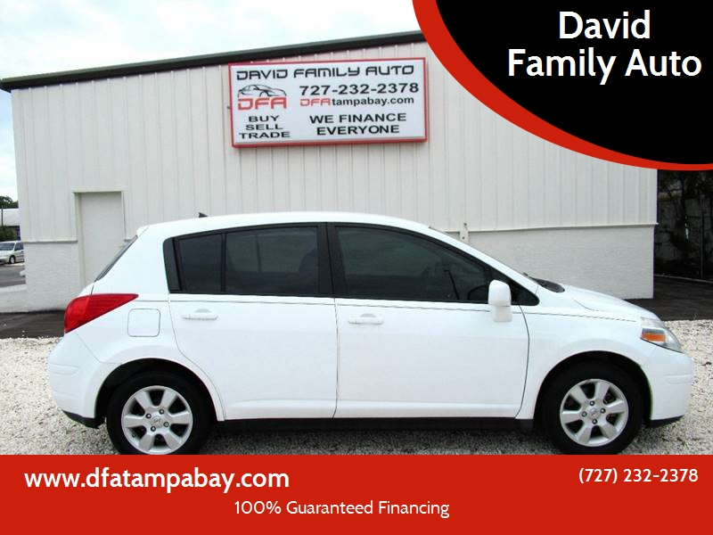 2009 Nissan Versa For Sale At David Family Auto In New Port Richey FL