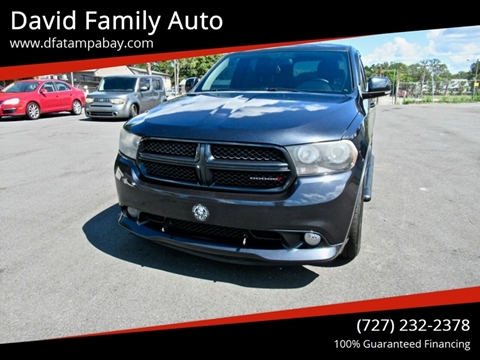 2013 Dodge Durango for sale in New Port Richey, FL
