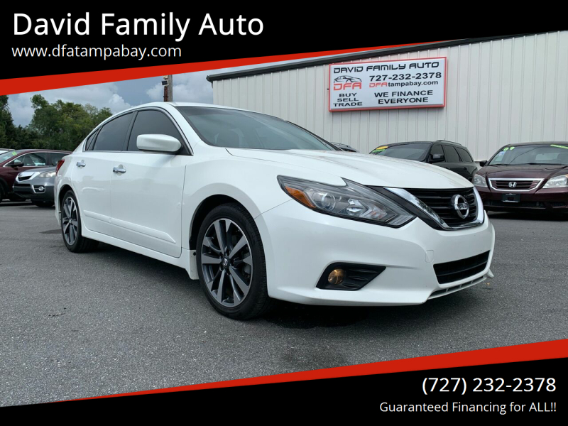 2016 Nissan Altima for sale at David Family Auto in New Port Richey FL