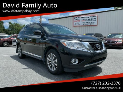 2014 Nissan Pathfinder for sale at David Family Auto in New Port Richey FL