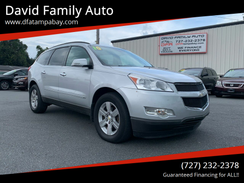 2010 Chevrolet Traverse for sale at David Family Auto in New Port Richey FL