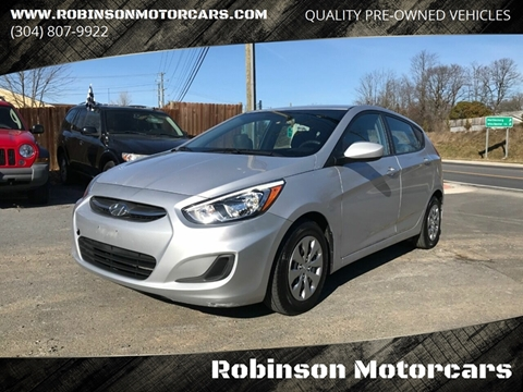 2017 Hyundai Accent SE for sale at Robinson Motorcars in Inwood WV