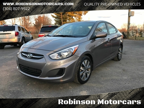 2017 Hyundai Accent Value Edition for sale at Robinson Motorcars in Inwood WV