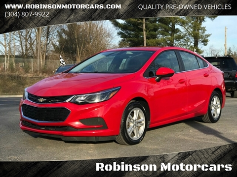 2018 Chevrolet Cruze LT Auto for sale at Robinson Motorcars in Inwood WV