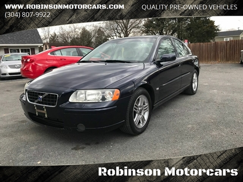 2005 Volvo S60 2.5T for sale at Robinson Motorcars in Inwood WV