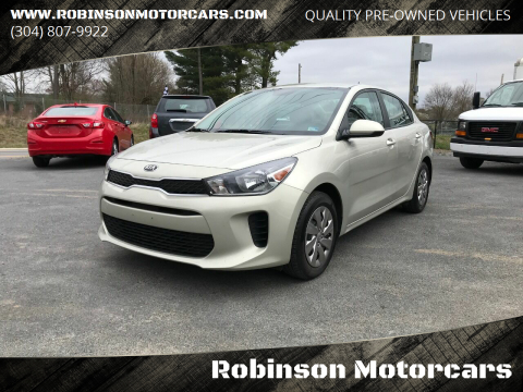 2018 Kia Rio S for sale at Robinson Motorcars in Inwood WV