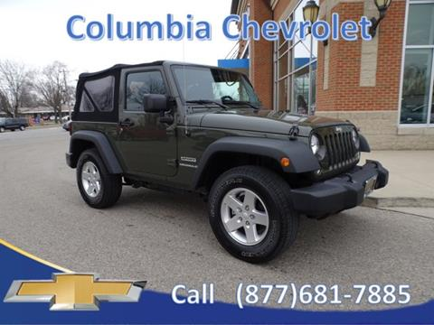 2015 Jeep Wrangler for sale in Cincinnati, OH