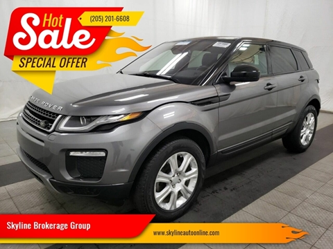 2017 Land Rover Range Rover Evoque for sale in Birmingham, AL