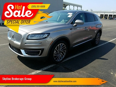 2019 Lincoln Nautilus for sale in Birmingham, AL