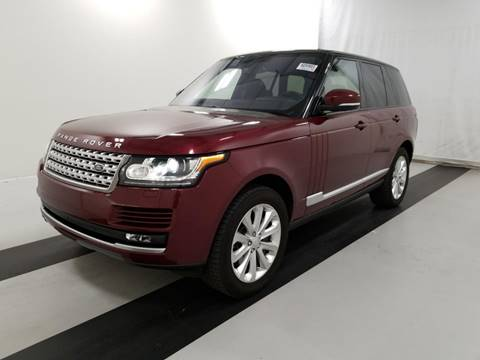 2016 Land Rover Range Rover for sale in Birmingham, AL