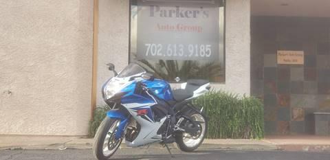 2011 Suzuki GSX-R600 for sale in Henderson, NV