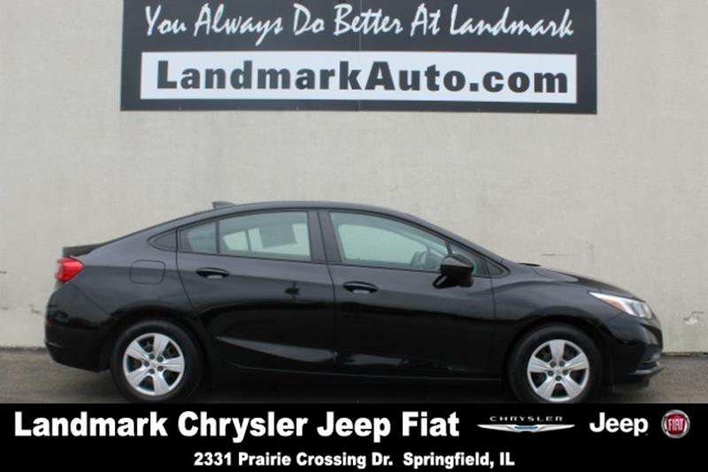 2016 Chevrolet Cruze For Sale At Landmark Auto Outlet In Springfield IL