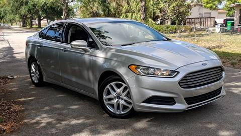 2014 Ford Fusion for sale in Plantation, FL