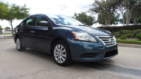 2013 Nissan Sentra for sale at Exhibit Sport Motors in Houston TX