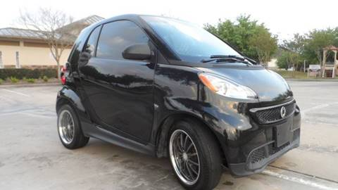 2013 Smart fortwo for sale at Exhibit Sport Motors in Houston TX