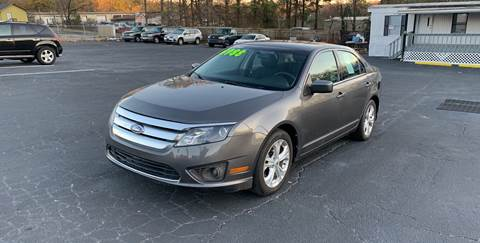2012 Ford Fusion for sale in Mableton, GA