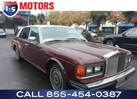 1987 Rolls-Royce Silver Spur for sale in Fife, WA
