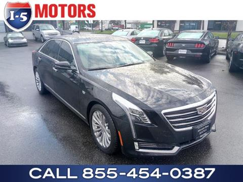 Used 2018 Cadillac Ct6 Plug In Hybrid For Sale Carsforsale Com