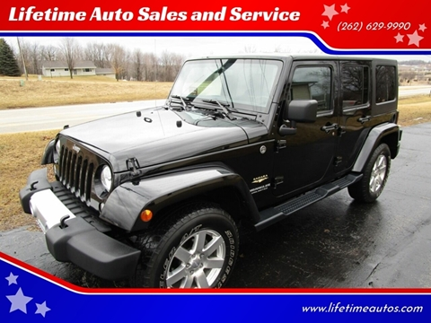 2015 Jeep Wrangler Unlimited for sale in West Bend, WI