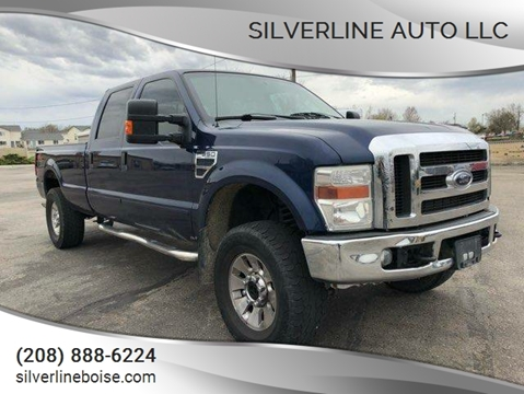 2008 Ford F-350 Super Duty for sale at Silverline Auto Boise in Meridian ID