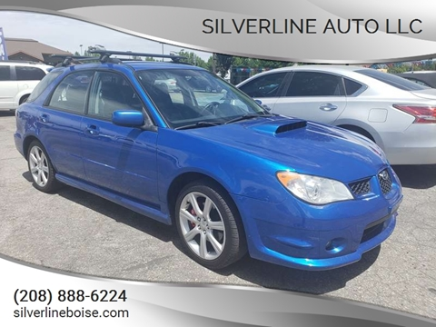 2007 Subaru Impreza for sale at Silverline Auto Boise in Meridian ID