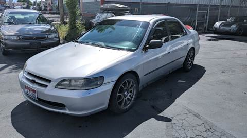 1999 Honda Accord for sale at Silverline Auto Boise in Meridian ID