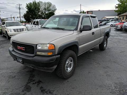 2002 GMC Sierra 2500 for sale in Meridian, ID