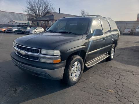 2003 Chevrolet Tahoe for sale at Silverline Auto Boise in Meridian ID