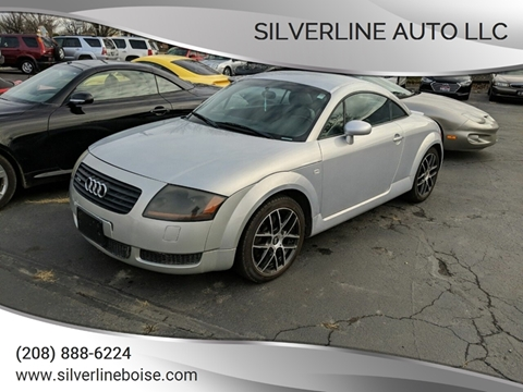2002 Audi TT for sale at Silverline Auto Boise in Meridian ID
