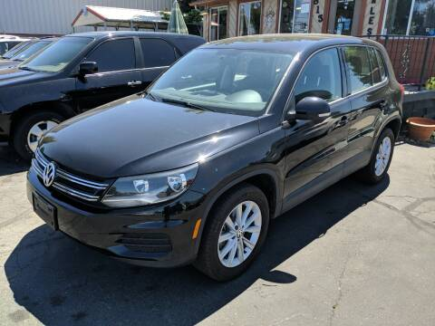 2017 Volkswagen Tiguan for sale at Silverline Auto Boise in Meridian ID