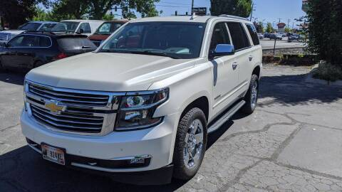 2015 Chevrolet Tahoe for sale at Silverline Auto Boise in Meridian ID