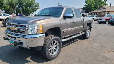 2012 Chevrolet Silverado 1500 for sale at Silverline Auto Boise in Meridian ID