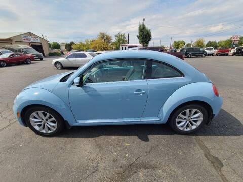 2014 Volkswagen Beetle for sale at Silverline Auto Boise in Meridian ID