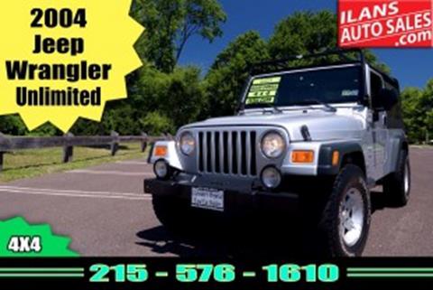 2004 Jeep Wrangler For Sale In Glenside, PA