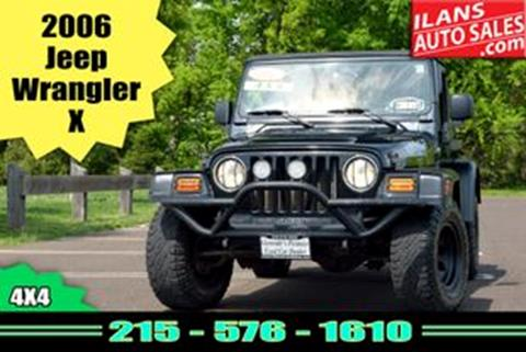 2006 Jeep Wrangler for sale in Glenside, PA