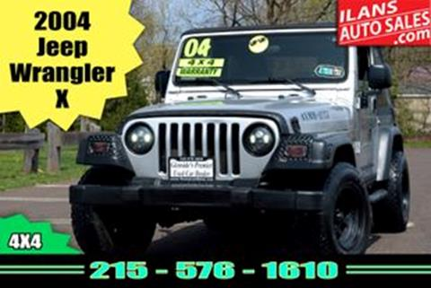 2004 Jeep Wrangler for sale in Glenside, PA