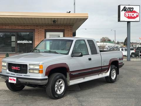 1997 GMC Sierra 2500 for sale in Blackfoot, ID