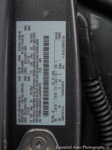 2020 Ford Escape SE (image 19)