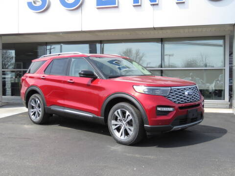 2020 Ford Explorer Platinum for sale at Scenic Motors Ford Lincoln in Mount Airy NC
