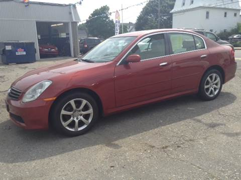 2005 Infiniti G35 for sale at Worldwide Auto Sales in Fall River MA