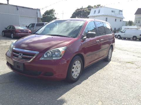2006 Honda Odyssey for sale at Worldwide Auto Sales in Fall River MA