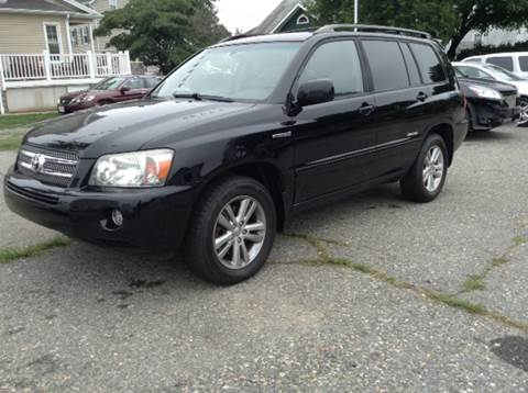 2006 Toyota Highlander Hybrid for sale at Worldwide Auto Sales in Fall River MA