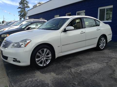 2008 Infiniti M35 for sale at Worldwide Auto Sales in Fall River MA