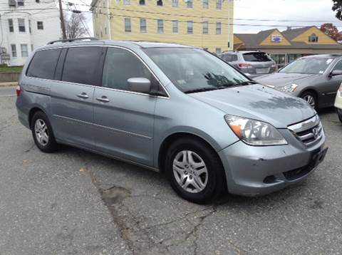 2007 Honda Odyssey for sale at Worldwide Auto Sales in Fall River MA