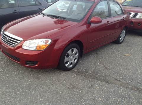 2008 Kia Spectra for sale at Worldwide Auto Sales in Fall River MA