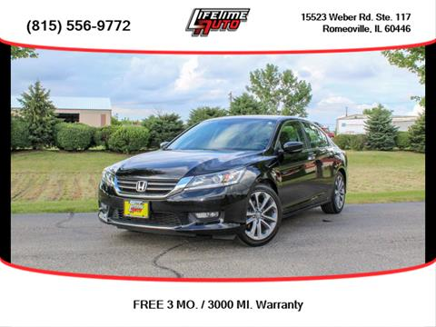 2014 Honda Accord for sale in Romeoville, IL