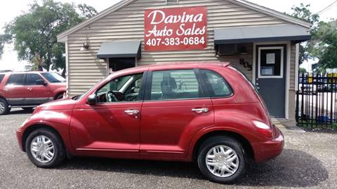 2009 Chrysler PT Cruiser for sale at DAVINA AUTO SALES in Casselberry FL