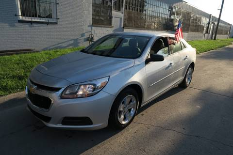 2013 Chevrolet Malibu for sale at Dymix Used Autos & Luxury Cars Inc in Detroit MI