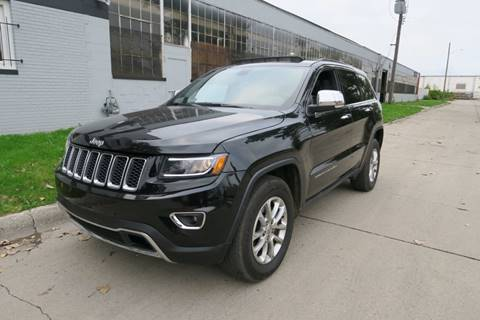 2014 Jeep Grand Cherokee for sale at Dymix Used Autos & Luxury Cars Inc in Detroit MI